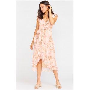• 2X H P • SMYM Granada Dress - Hydrangea Blooms